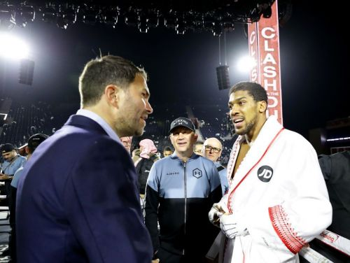 Eddie Hearn reveals what he's told Anthony Joshua about Tyson Fury fight