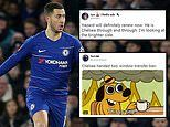 'Eden Hazard will definitely renew now': Chelsea fans react to transfer ban