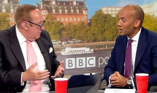 BBC's Andrew Neil leaves Chuka Umunna laughing awkwardly - 'are you still a Lib Dem?'