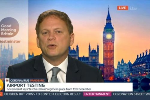 Piers Morgan stunned as MP Grant Shapps admits government faults during pandemic
