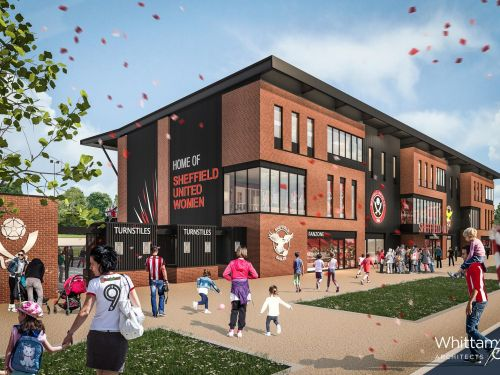 Work to get underway on £5 million stadium which will give Sheffield United Women and Sheffield Eagles a home