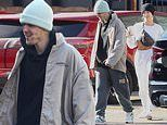 Justin Bieber and wife Hailey Baldwin in good spirits in roomy clothes after fun at LA dance studio
