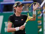 Konta coasts into third round at Eastbourne with straight-sets win