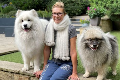 'Like my scarf? It's made from my dog's fur!' Woman pays £185 for show-stopping fashion accessory