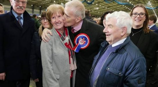 East Londonderry: DUP's Campbell 'basking in the sunlight'