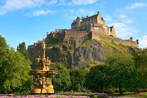 Edinburgh Castle is the 'most Instagrammable' location in Scotland
