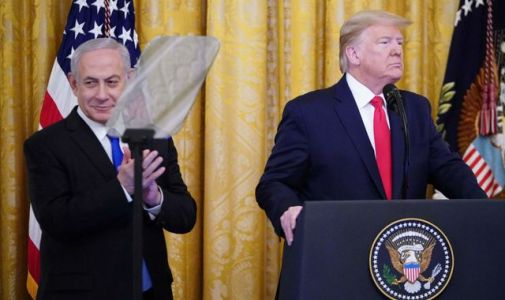 Trump unveils Middle East peace plan which is 'win-win' for Israel and Palestinians