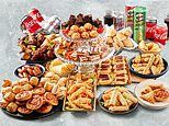 Iceland are selling a 150 piece party food bundle for £15 and can feed 15 people