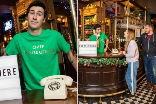 London pub hires 'chief excuse officer' to help footie fans watch match in peace
