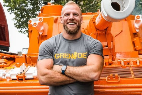 James Haskell's personal training wife Chloe Madeley helped his lockdown fitness