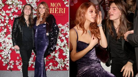 Damian Hurley and Boris Becker's daughter are one stylish duo as they party in Munich