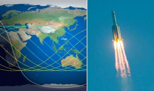 Chinese rocket danger zone mapped: Where could Chinese rocket hit Earth?