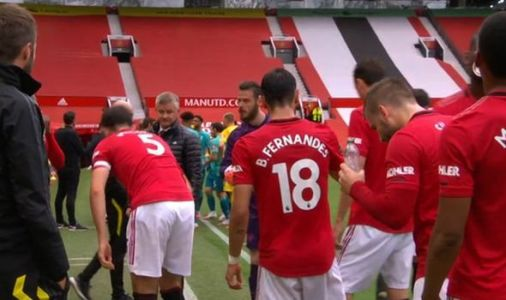 Man Utd boss Ole Gunnar Solskjaer furious with Harry Maguire during Bournemouth clash