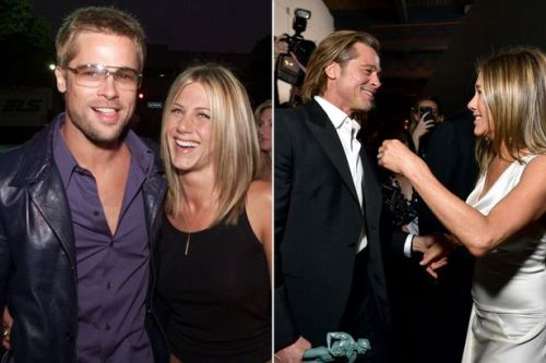 'They were on a break!': Fans incredible reactions to Jennifer Aniston and Brad Pitt's reunion