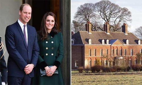 Prince William and Kate Middleton's home is basically a jungle in new video