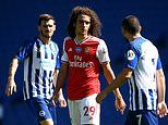 Arsenal outcast Matteo Guendouzi posts pictures of holiday while team-mates battle to win FA Cup