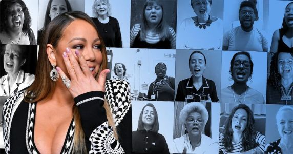 Mariah Carey thanks NHS during coronavirus crisis after being 'brought to tears' by healthcare choir singing her song