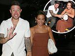 Wayne Bridge looks a little worse for wear as he celebrates 40th birthday with wife Frankie
