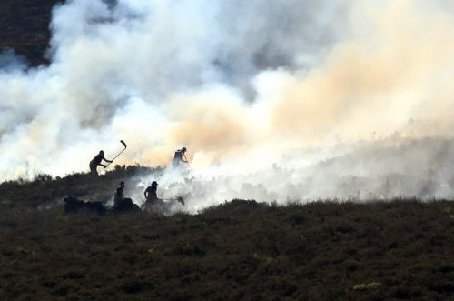 Manchester Moorland Fires Had A Harmful Impact On Air Quality, Researchers Reveal