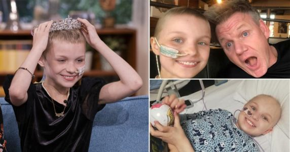 Girl with rare cancer who cooked with Gordon Ramsay for bucket list dies aged 10
