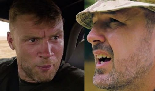 Top Gear's new action-packed trailer sees Freddie Flintoff and Paddy McGuinness race bangers and paddle a car down a river