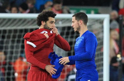 "Eden Hazard wants to reach same level as ""incredible"" Mo Salah"
