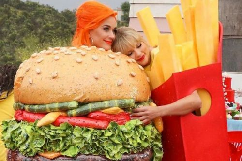Taylor Swift and Katy Perry prove they're finally friends again in new music video