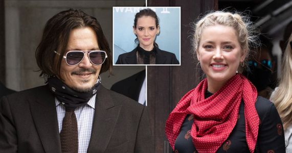 Winona Ryder 'felt so very safe' with Johnny Depp as she defends her 'extremely caring' ex