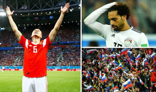 Russia on the brink of the last 16 as Mohamed Salah's World Cup dreams go up in smoke