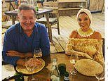Piers Morgan shares sweet snap as he goes for dinner with Joan Collins during holiday in St Tropez