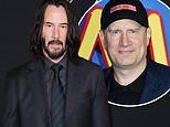 Keanu Reeves has been in talks to join Marvel superhero movies says studio head Kevin Feige