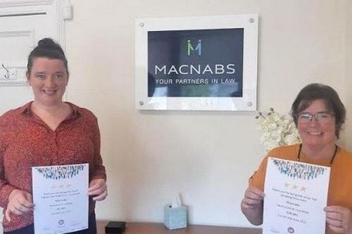 Perthshire law firm's got the will to raise money for charity