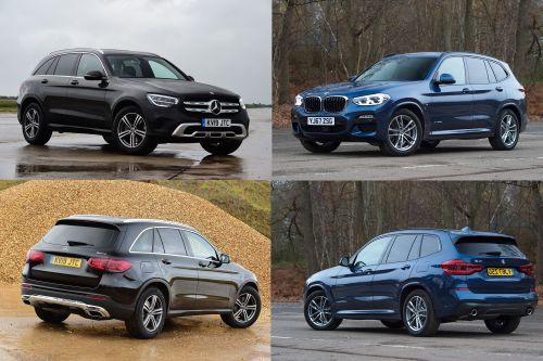 BMW X3 vs Mercedes GLC