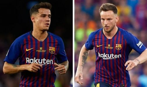 Man Utd hatch Philippe Coutinho and Ivan Rakitic transfer plan to replace Paul Pogba