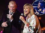 John Farnham and Olivia Newton-John reunite at Fire Fight Australia