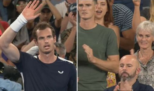 Andy Murray holds off TEARS as he waves goodbye in incredible Australian Open farewell