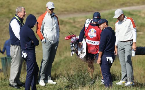 Brooks Koepka in furious foul-mouthed row with Ryder Cup officials
