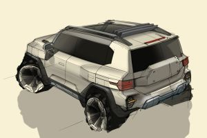 Upcoming SsangYong X200 SUV previewed with retro-styled concept