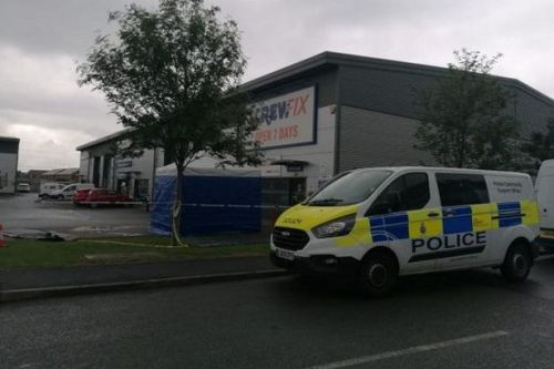 Screwfix customer dies after 'altercation' in store as man, 24, arrested
