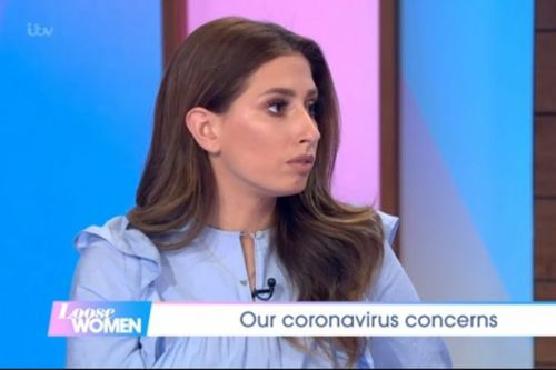 Stacey Solomon in awe as makes unexpected appearance on Michelle Obama's Twitter