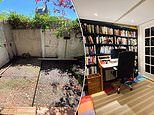 Man with no DIY experience saves himself £14,000 by building an office garden shed himself