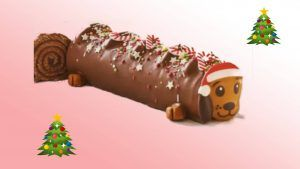 The Sainsbury's Christmas range includes a sausage dog yule log and we're here for it
