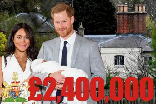 Meghan Markle and Prince Harry get £2.4m of taxpayers' cash to pay for house renovation