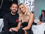 TOWIE's Olivia Attwood cosies up to new fiancé Bradley Dack backstage at The X Factor: Celebrity