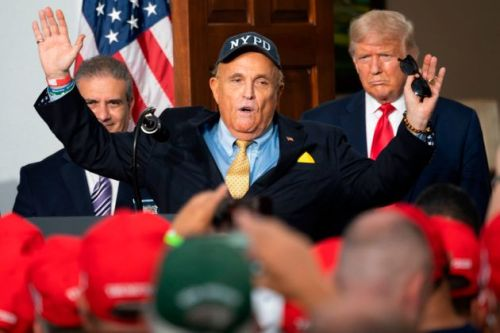 Awkward? A Personal Gift From Trump To Giuliani Just Sold At Auction