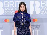 BRITs 2020: Hailee Steinfeld is the epitome of glamour in navy floral dress