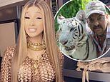 Cardi B pledges to start a GoFundMe for imprisoned Tiger King star Joe Exotic