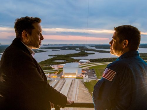 Elon Musk told NASA astronauts' kids, 'we've done everything we can to make sure your dads come back ok' ahead of the SpaceX launch