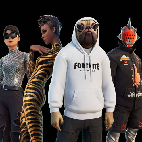 """""""Authentic Balenciaga looks"""" released in video game Fortnite"""