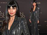 Jameela Jamil glitters in a chic studded suit at the 26th annual Elle Women in Hollywood celebration